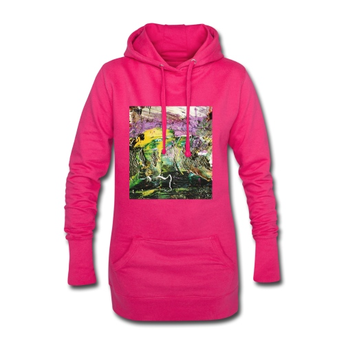 Abstract close up 2 - Hoodie Dress