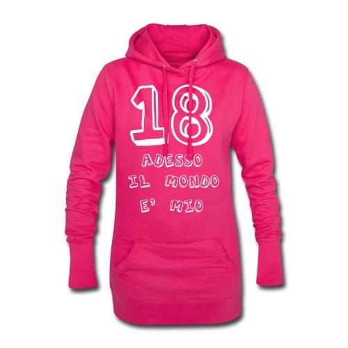 18 adesso il mondo e mio - Vestitino con cappuccio