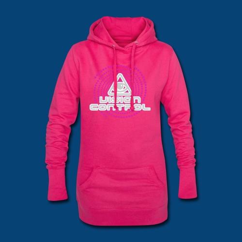 Vision Control Basic Logo Grey Pink Pattern - Hoodie-Kleid