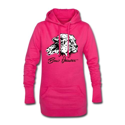 Bow Hunter Gepard 2 färbig - Hoodie-Kleid