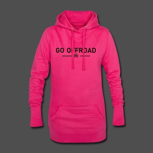 go offroad - Hoodie-Kleid