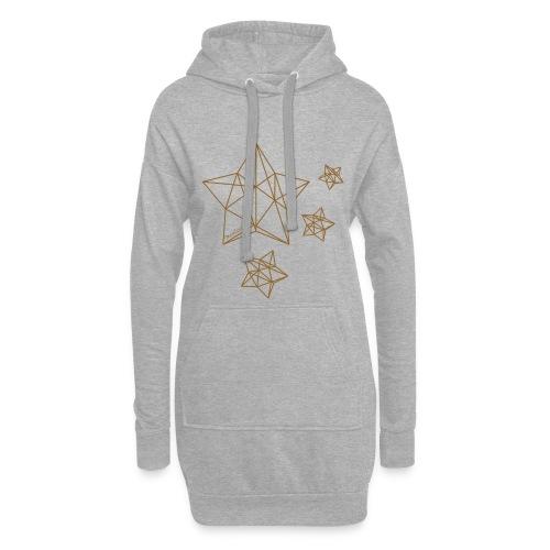 Sternenhimmel Diamant - Hoodie-Kleid