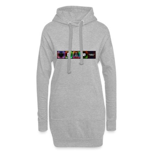 5 Logos - Hoodie Dress