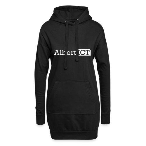 AlbertICT wit logo - Hoodiejurk