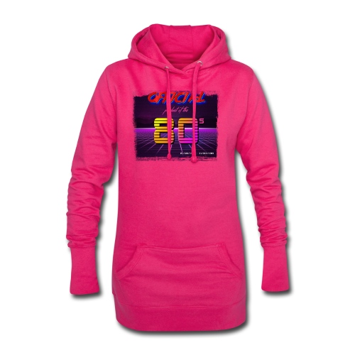Official product of the 80's clothing - Hoodie Dress