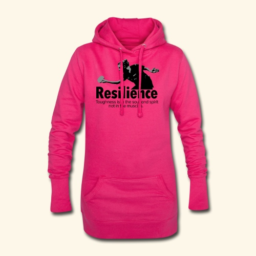 Toughness is in the soul and spirit - Hoodie-Kleid