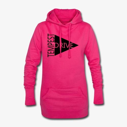 Komprimeret logo - Hoodie-kjole