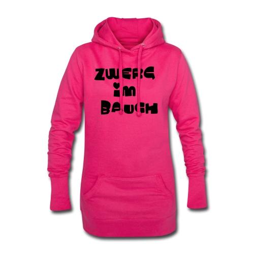 Zwerg im Bauch / Süßes Design für Schwangere - Hoodie-Kleid