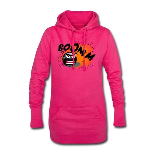 Bomba - Sudadera vestido con capucha