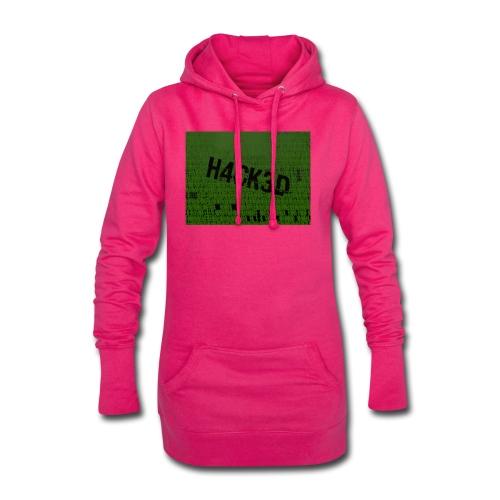 H4CK3D - Hoodie-Kleid