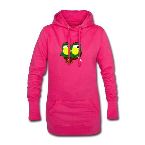 Winter Froggy - Sweat-shirt à capuche long Femme