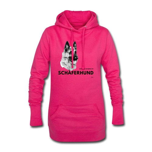 Home is where my Schäferhund is ! - Hoodie-Kleid