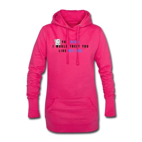 Boxer-Tayra - Długa bluza z kapturem