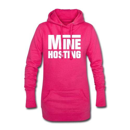 Mine Hosting Corporate Kampagne - Hoodie-Kleid