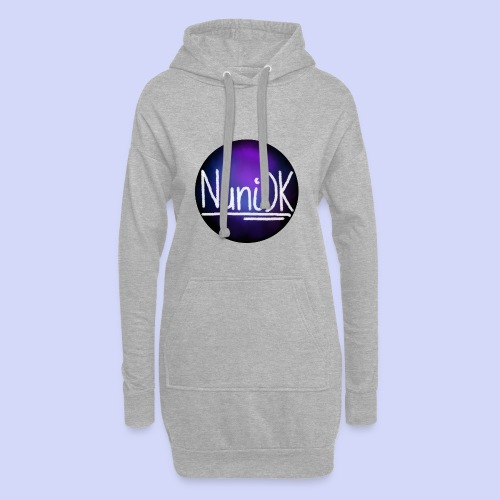 Galaxy shade, NuniDK collection - female top - Hoodie-kjole