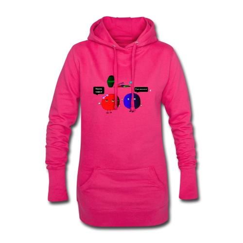 Diseño parchís camiseta - Sudadera vestido con capucha