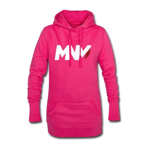 MNM With RED WHITE Corner - Hoodie Dress