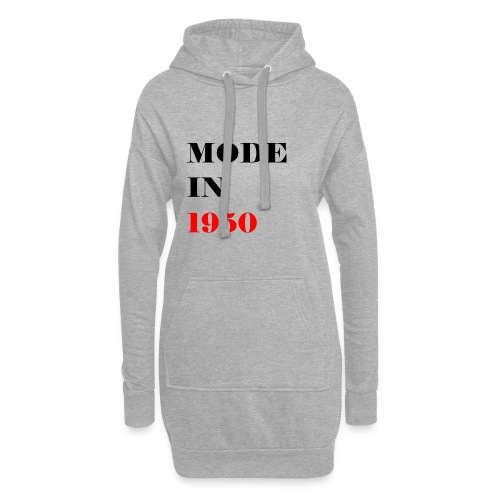 MODE IN 150 - Hoodie Dress