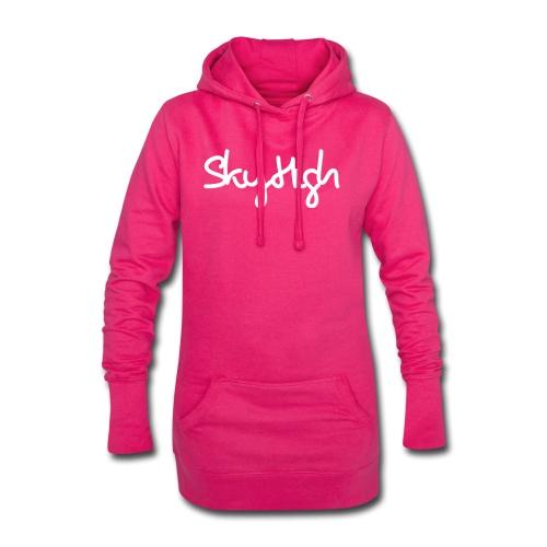 SkyHigh - Men's Premium Hoodie - White Lettering - Hoodie Dress