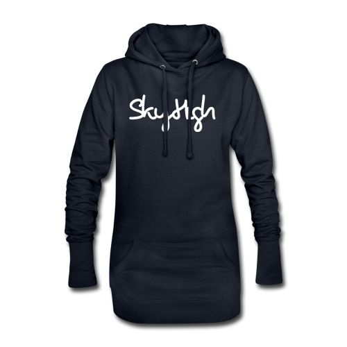SkyHigh - Snapback - (Printed) White Letters - Hoodie Dress