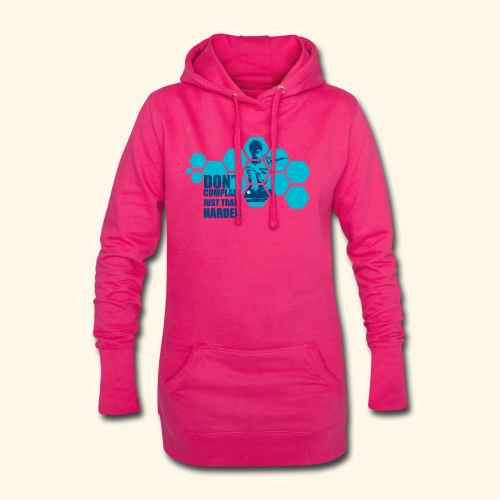 Don't Complain Just train hard Ping pong - Hoodie-Kleid