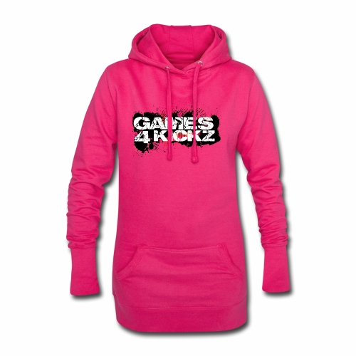 Games4Kickz Logo Splattered Background - Hoodie Dress