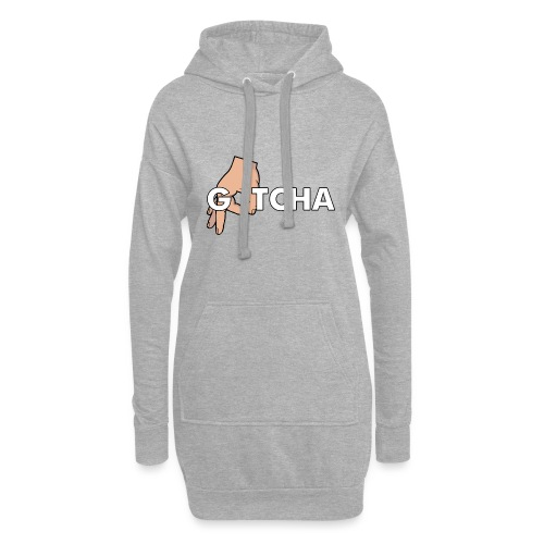 Gotcha Made You Look Funny Finger Circle Hand Game - Hoodie Dress