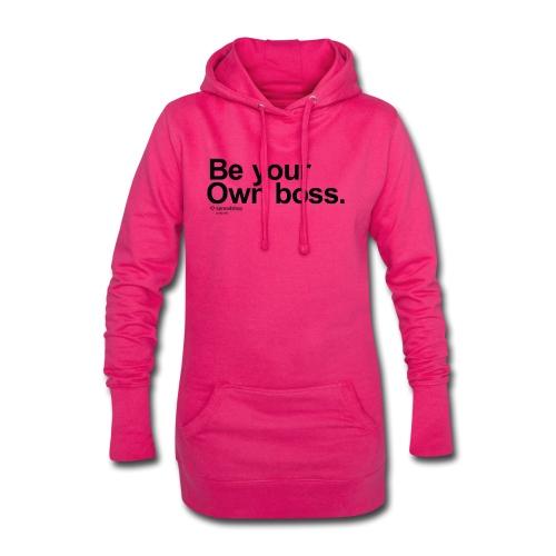Boss in black - Hoodie Dress