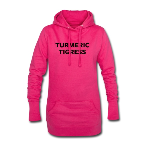 Turmeric Tigress - Hoodie Dress