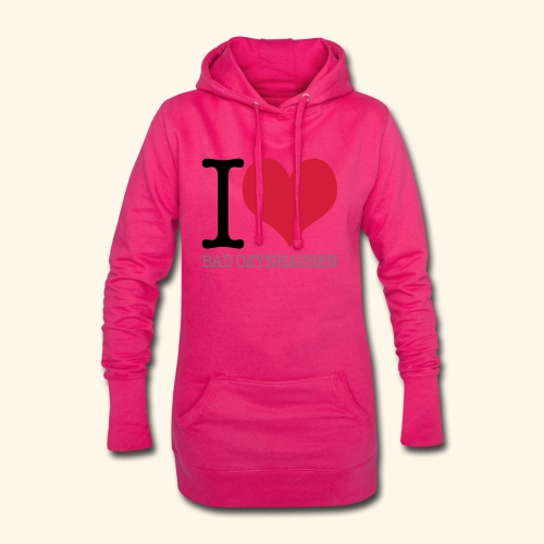 Love is in the Kurstadt - Hoodie-Kleid