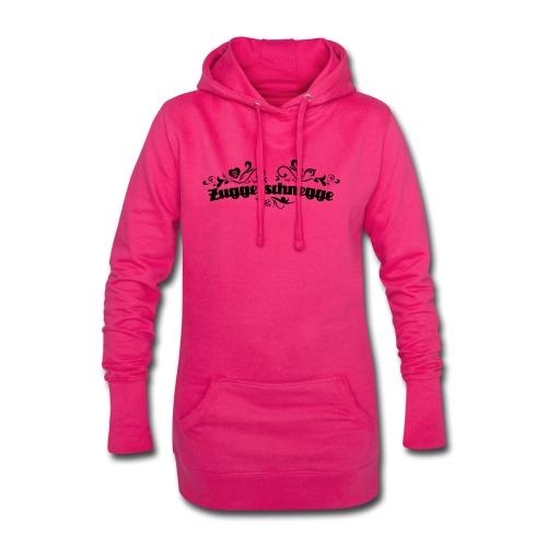 Zuggerschnegge - schwarz - Hoodie-Kleid