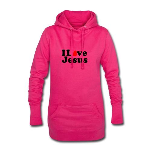 I Love Jesus - Vestitino con cappuccio