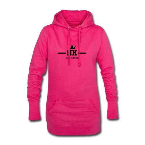logo_3_schwarz - Hoodie Dress