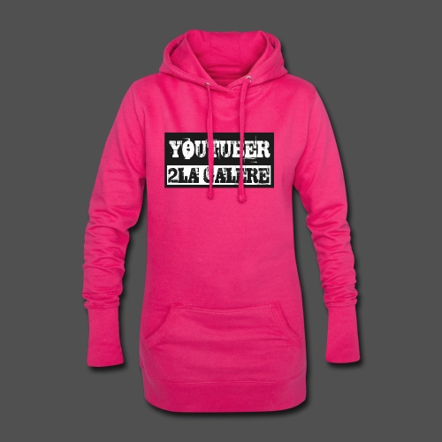 youtuber2lagalère - Sweat-shirt à capuche long Femme