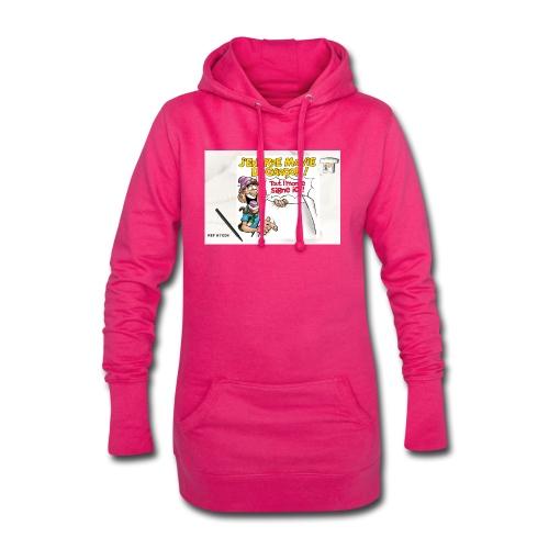 A11234 - Sweat-shirt à capuche long Femme