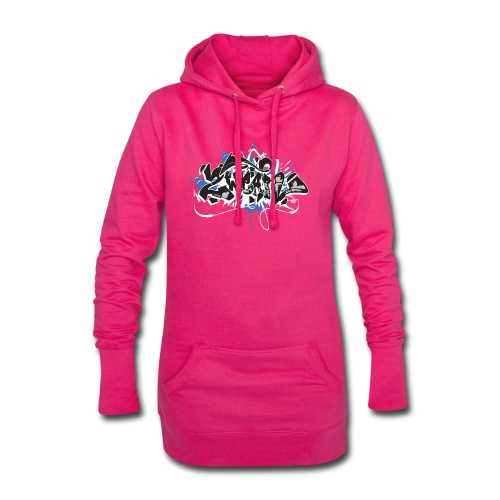 Dae 2Wear graffiti style ver01 black edt - Hoodie-kjole