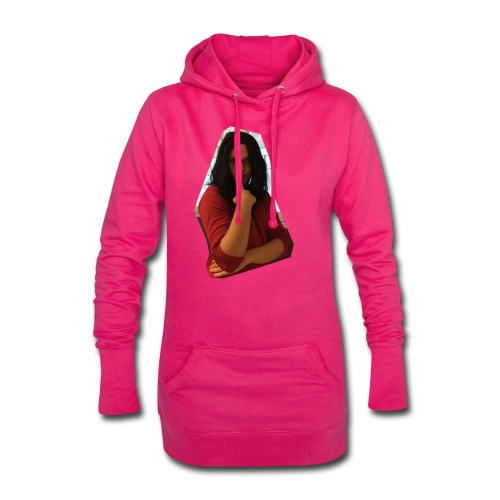 Another extremely attractive shirt - Hoodie-Kleid