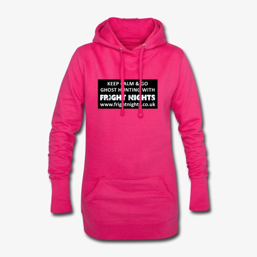 Keep Calm Go Ghost Hunting With Fright Nights - Hoodie Dress