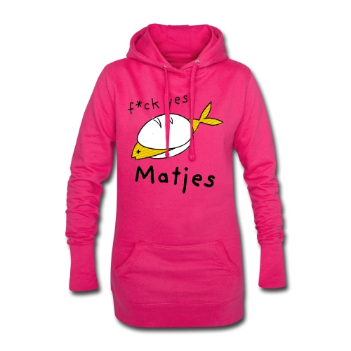 Ostfriesland Fun Shirt - F*ck Yes Matjes - Hoodie-Kleid
