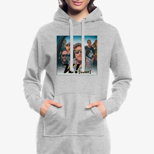 k4 promo - Hoodie-Kleid