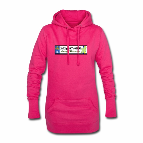LONGFORD, IRELAND: licence plate tag style decal - Hoodie Dress