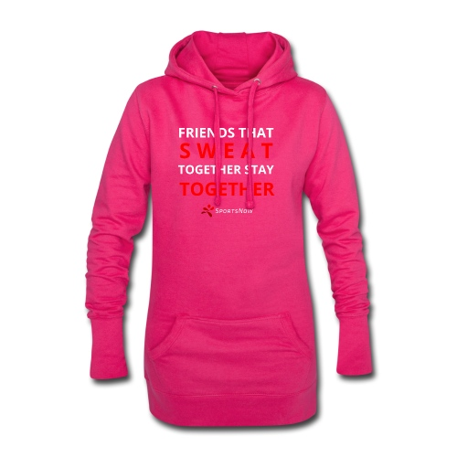 Friends that SWEAT together stay TOGETHER - Hoodie-Kleid