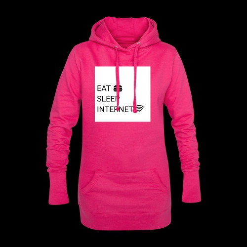 EAT SLEEP INTERNET - Hoodie Dress