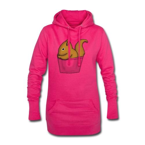 Taschenhörnchen - Hoodie-Kleid