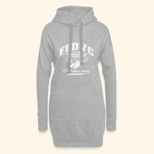Fédération Française des Vieilles Connes - Sweat-shirt à capuche long Femme
