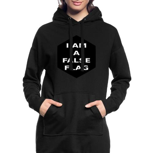 I am a false flag - Hoodie-Kleid