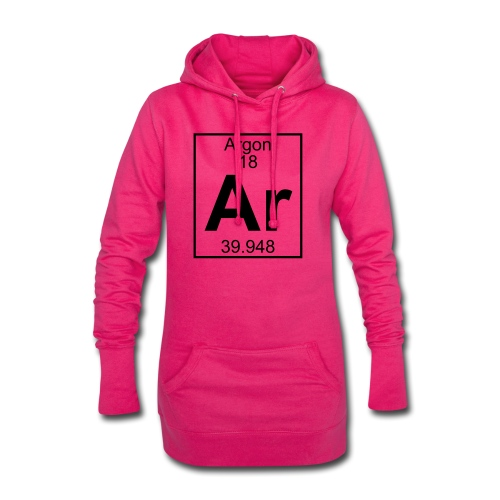 Argon (Ar) (element 18) - Hoodie Dress