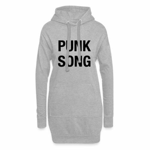 PUNK SONG - Hoodie Dress