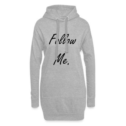 Follow me - Sweat-shirt à capuche long Femme