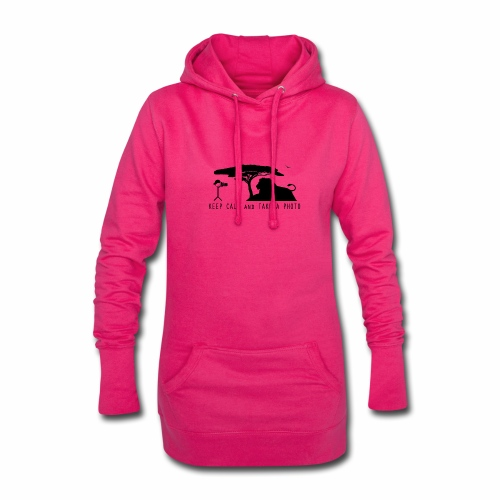 KEEP CALM AND TAKE A PHOTO Fotografen Design - Hoodie-Kleid